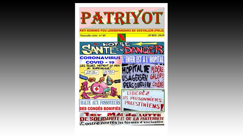 Patriyot #89 Avril 2020