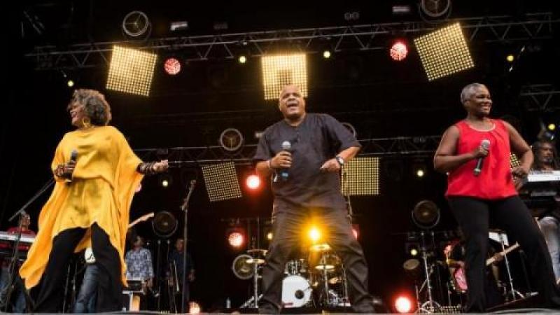 Kassav' a assuré le show au festival du Chant de Marin