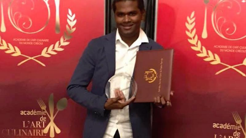 Un jeune chef réunionnais sacré aux trophées de l'Art Culinaire du Monde Créole