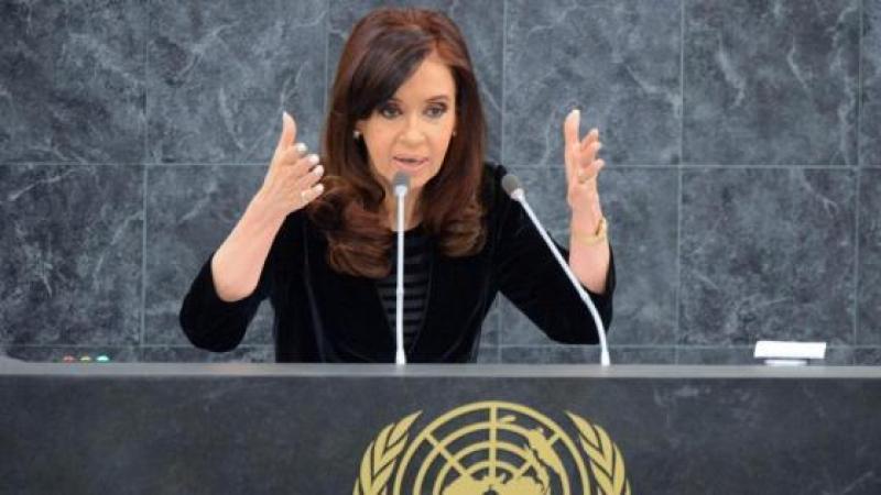 """DISCOURS DE LA PRESIDENTE ARGENTINE A L'ONU : """"IL Y A AUSSI DES TERRORISTES ECONOMIQUES"""""""