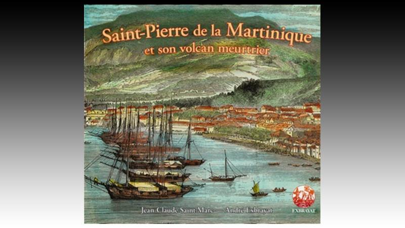 Saint-Pierre de la Martinique et son volcan