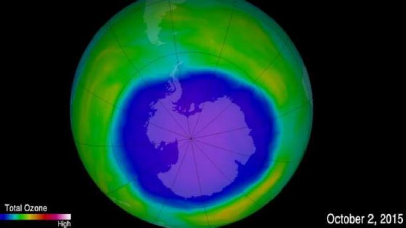 LE TROU DANS LA COUCHE D'OZONE SE REFERME, ET PLUS VITE QUE PREVU