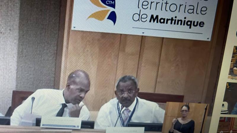 Il disait vouloir redonner sa juste place au président de l'assemblée de la CTM !