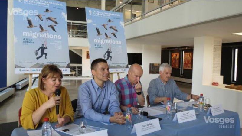 PATRICK CHAMOISEAU PRESIDENT DE LA 30è EDITION DU FESTIVAL INTERNATIONAL DE GEOGRAPHIE
