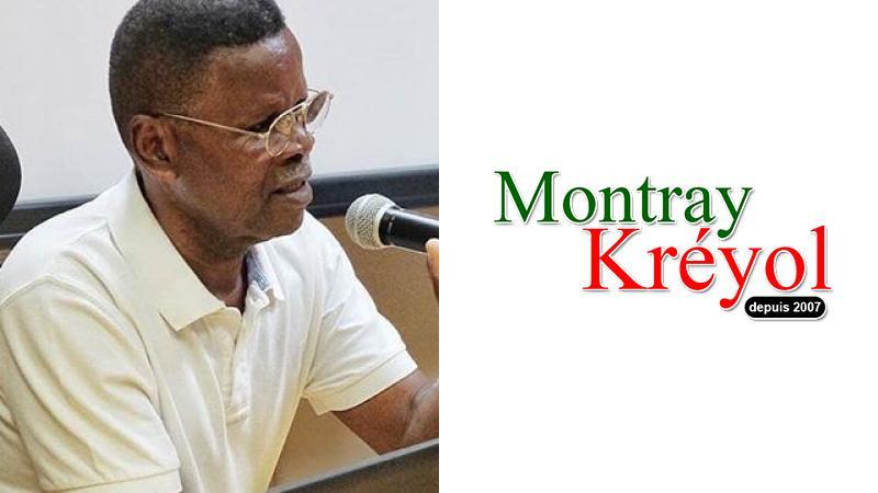 """Lucien Pavilla : """"Pourquoi je soutiens Montray Kréyol"""""""