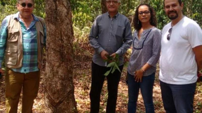 Representantes do Conselho Regional da Martinica visitam Unidades de Conservação do Estado