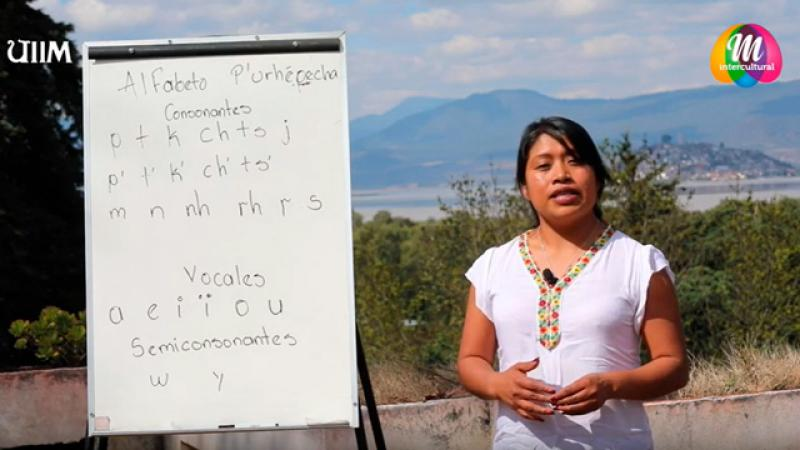 Universidad de Michoacán crea canal de Youtube para enseñar la lengua purépecha