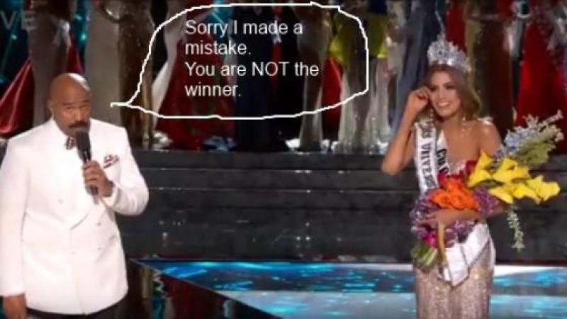 """""""J'AI ACQUERI...""""/""""MISS COLOMBIA HAS WON..."""""""