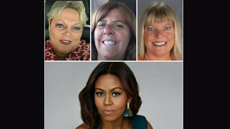 Sé sé tet-zoto tala ki ka di Michelle Obama led !