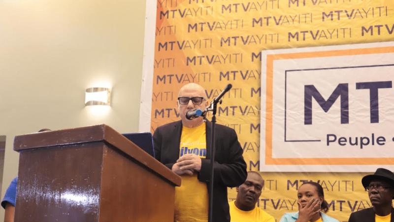 Boulos présente officiellement le Mouvement 3e Voie et veut recruter 1 million de jeunes