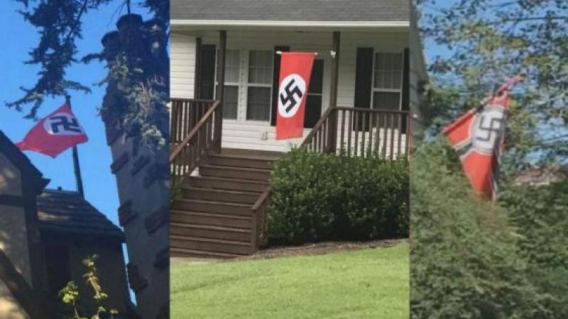 Etats-Unis : les drapeaux de la honte