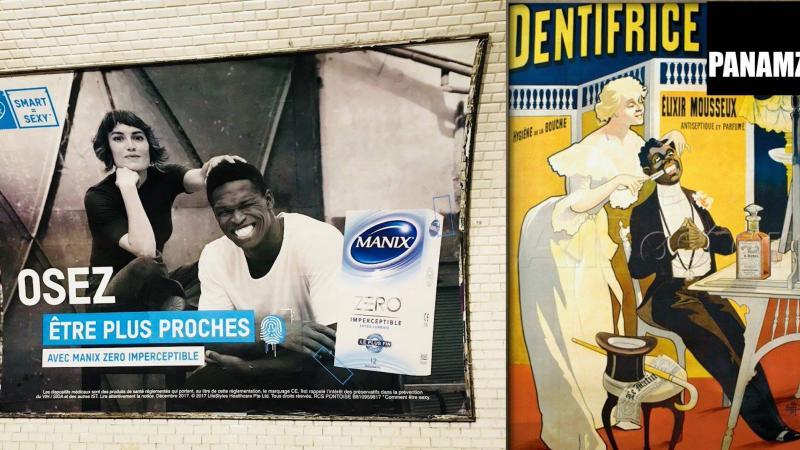 Le racisme de la peau sauvée en Martinique.