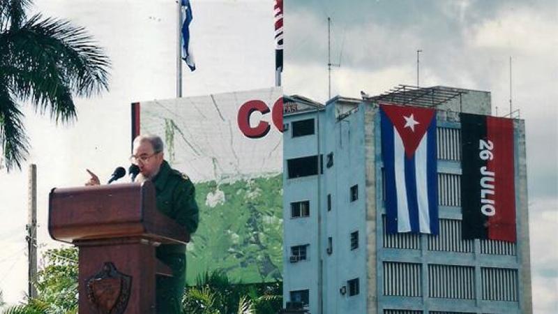 J'ai vu de près Fidel CASTRO