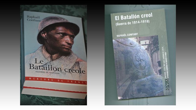 """""""LE BATAILLON CREOLE"""" (Prix Casa de las Americas, Cuba, 2016), traduit en espagnol"""