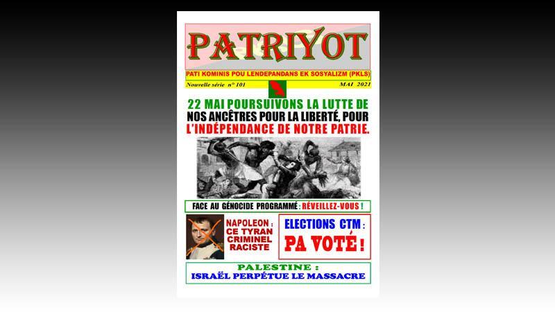 Patriyot #101 Mai 2021