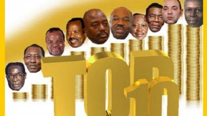 LES PRESIDENTS LES PLUS RICHES D'AFRIQUE EN 2016 : QUI EST LE 1ER DU TOP 10 ?