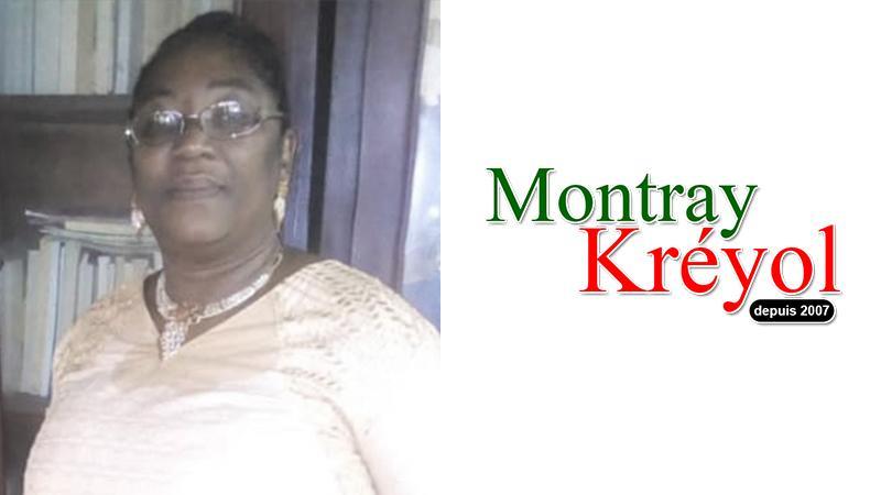 Dolisane-Ebosse Cécile soutient Montray Kréyol