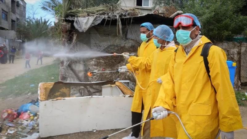 Israël refuse l'entrée de matériel médical à Gaza qui compte 9 cas de coronavirus