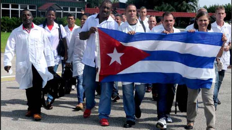 Ai medici cubani che arrivano oggi in Italia diciamo grazie!