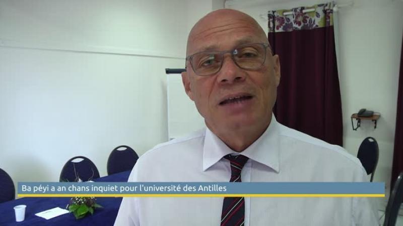 """""""Ba Péyi-a an Chans"""" inquiet pour le Pôle Martinique de l'Université des Antilles"""
