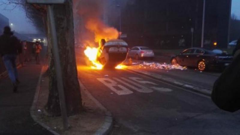 """Le récit mensonger de la préfecture à propos d'une """"jeune enfant dans une voiture en feu"""""""