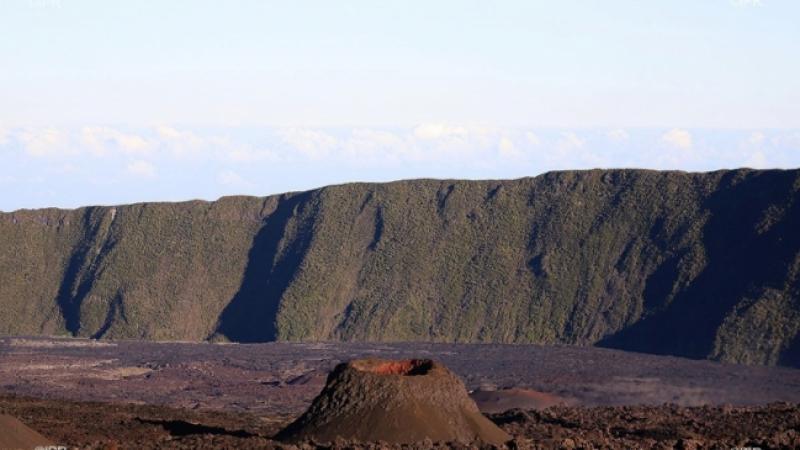 Volcan : le nouveau cône baptisé Piton Daniel Honoré