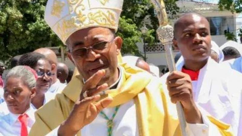 Ayiti-Panik anndan yon legliz katolik.