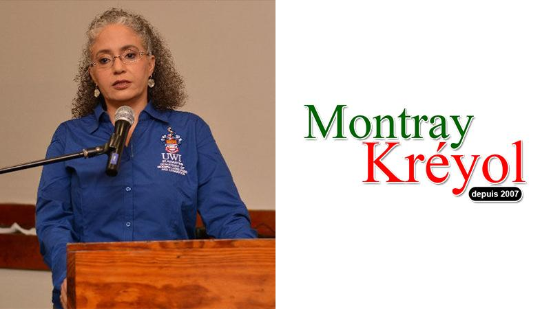 Jo-Anne Ferreira supports Montray Kréyol