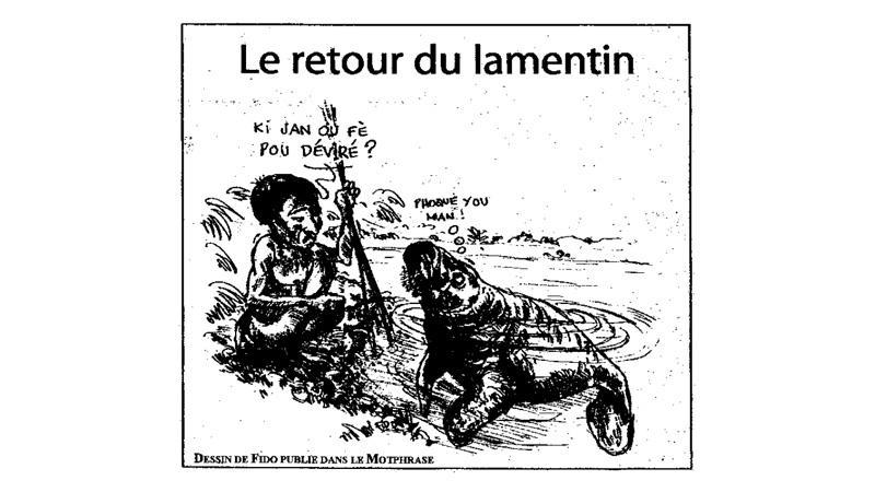 LE RETOUR DU LAMENTIN