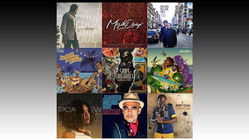 Jazz créole : 2018, une année cross-over